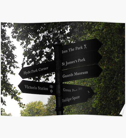 London Walks Poster