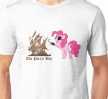 Pinkie Pie loves The Pirate Bay (TPB) Unisex T-Shirt