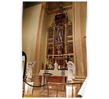 Altar of St. John the Baptist - St. Mary's Historical Church Poster