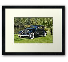 1933 Packard Sedan Framed Print