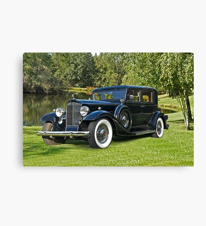 1933 Packard Sedan Canvas Print