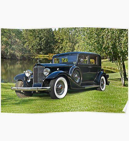 1933 Packard Sedan Poster