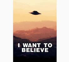 I Want to Believe by Raphael Terra Unisex T-Shirt
