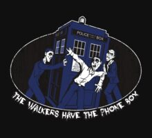 The Walkers have the Phonebox Kids Tee