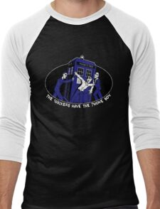 The Walkers have the Phonebox Men's Baseball ¾ T-Shirt