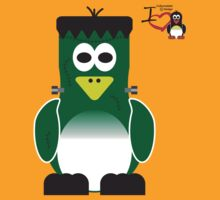 Halloween Penguin - Frankenstein by jimcwood