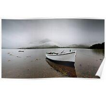 Misty view, Loch Duich Poster