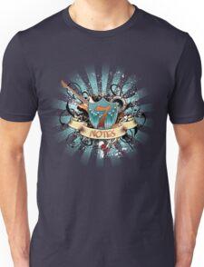 7 Notes Unisex T-Shirt