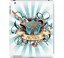7 Notes iPad Case/Skin