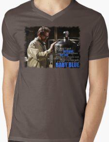 My Baby Blue Mens V-Neck T-Shirt