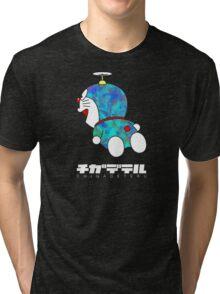 DORAEMON *FOIL* Tri-blend T-Shirt