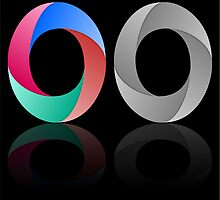 Abstract Infinite Loop / Ring Sign by punith