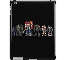 transformers design t-shirt iPad Case/Skin