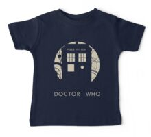Doctor Who Poster Baby Tee