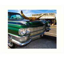 Goodsprings Cadillac Art Print