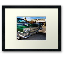 Goodsprings Cadillac Framed Print
