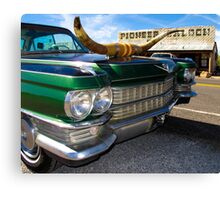 Goodsprings Cadillac Canvas Print