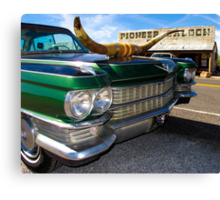 Goodsprings Cadillac Canvas Print
