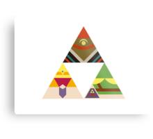 The Legend of Zelda: Legend of the Triforce Metal Print