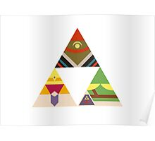 The Legend of Zelda: Legend of the Triforce Poster