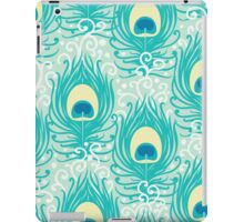Peacock feathers pattern iPad Case/Skin