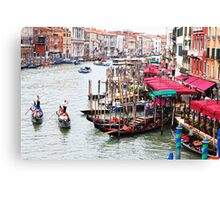 The Grand Canal Canvas Print
