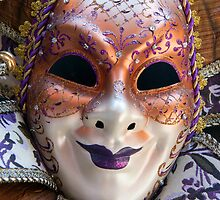 The Purple Mask by Adrian Alford Photography