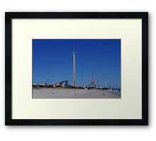 Funtown Pier - Fixing The Toys Framed Print