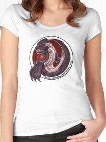 The Honeybadger Gaming Community Logo Women's Fitted Scoop T-Shirt