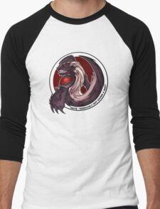 The Honeybadger Gaming Community Logo Men's Baseball ¾ T-Shirt