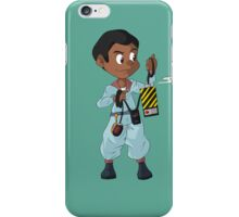 The Real Ghostbusters- Winston iPhone Case/Skin