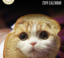 Waffles the Cat Calendar by derlaine