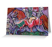 Circo De Los Muertos Greeting Card