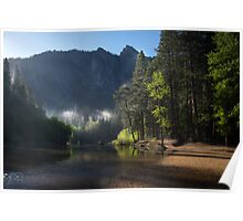 Beached - Merced River Yosemite Poster