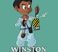 The Real Ghostbusters- Winston by 8BitSpirit