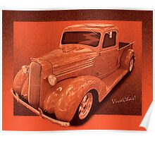 How to Build a 36 Dodge Pickup Street Rod Poster