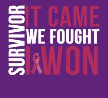Breast Cancer Survivor I WON by mralan