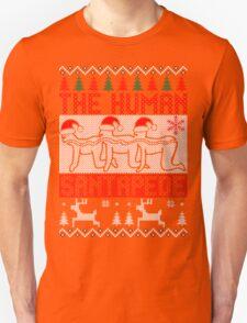 The Human Santapede Ugly Christmas Sweater Xmas Sweatshirt T-Shirt