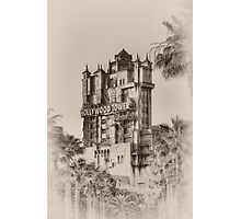 The Hollywood Tower Hotel Photographic Print