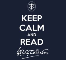Tolkien t-shirt keep calm by KeepItStupid