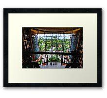 Animal Kingdom Lodge Framed Print
