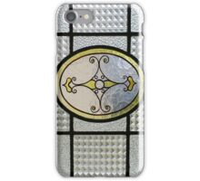 Vintage Stained GlassWindow iPhone iPhone Case/Skin