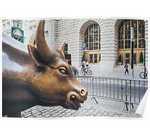 The Charging Bull Poster