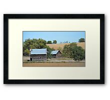 Rural Farmstead Framed Print