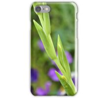 Gladioli Buds iPhone Case/Skin