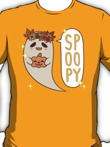 Cute Spoopy Ghost (Color Version) T-Shirt