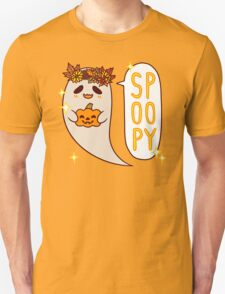 Cute Spoopy Ghost (Color Version) Unisex T-Shirt