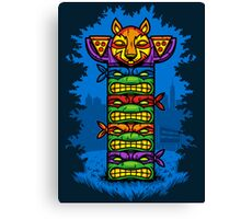 Totem-lly Radical Canvas Print