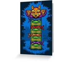 Totem-lly Radical Greeting Card
