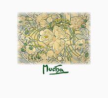 Mucha – Flowers Unisex T-Shirt